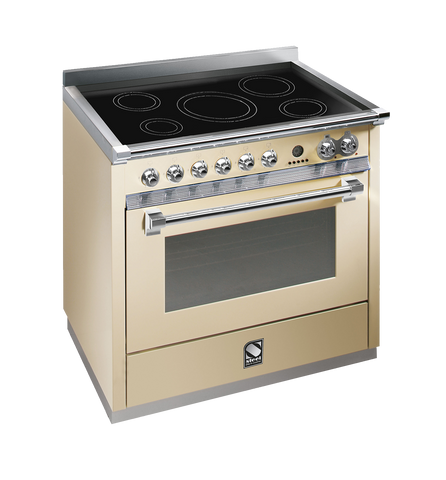 Steel A9F-6I Ascot Range 90cm Multi Function Upright Cooker with 5 Induction Zones