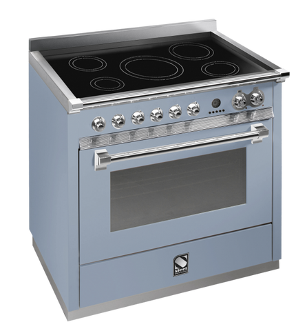 Steel A9S-6I Ascot Range 90cm Combi-Steam Upright Cooker with 6 Induction Zones