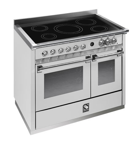 Steel A10SF-6I Ascot Range 100cm Combi-Steam Upright Cooker with 6 Induction Zones