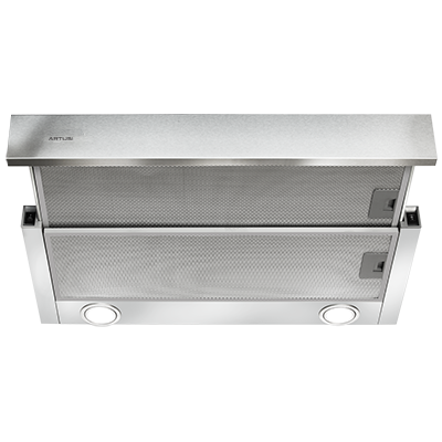 Artusi ASO600X 60cm slide out rangehood