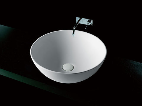 Kaskade S1-390mm Bowl Bench Mounted Basin