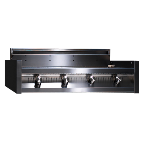 Steel I9-4 BBQ Range Built-in BBQ with Four Burner Grill