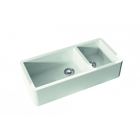 Canterbury OXF5431 Oxfordshire Offset 1003mm One & Three Quarter Bowl Sink