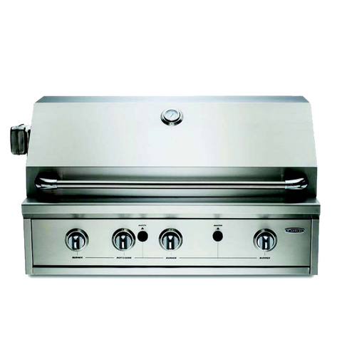 Capital PRO36RBI N/L 937mm Built-in Open Grill BBQ with Solid Flat Plate