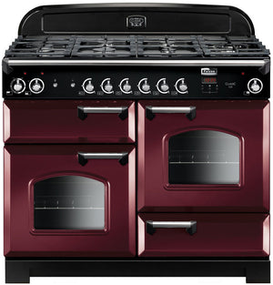Falcon CLA110DFFCY/CH Classic 110cm Upright Dual Fuel Cooker