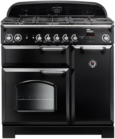 Falcon CLA90NGFBL/CH Classic 90cm Upright Gas Cooker