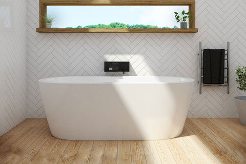 Decina CO1500W Cool 1500mm White Freestanding Bath