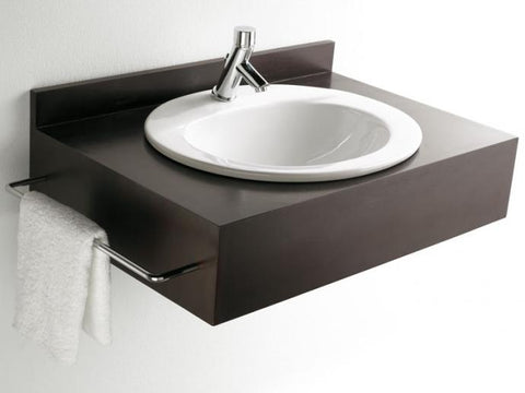 Bathco 520mm Comillas drop in vanity basin 1TH