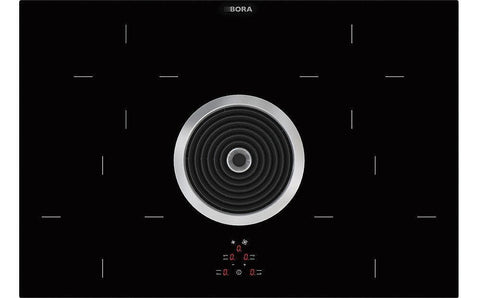 BORA BIU Basic Induction Glass-ceramic Cooktop with Cooktop Extractor - Recirculation