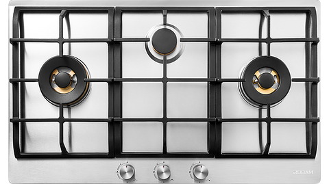 Robam JZ(T/Y)-G311 3 Burner Stainless Steel Cooktop