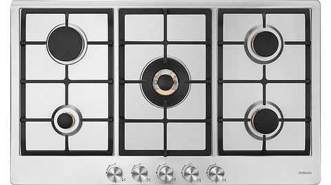Robam JZ(T/Y)-G511 5 Burner Stainless Steel Cooktop