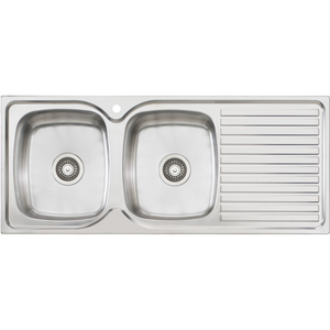 Oliveri EE71 Endeavour Single Bowl Sink With Drainer