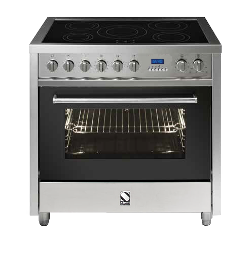 Steel E9F-6I Enfasi Range 90cm Multi Function Upright Cooker with 5 Induction Zones