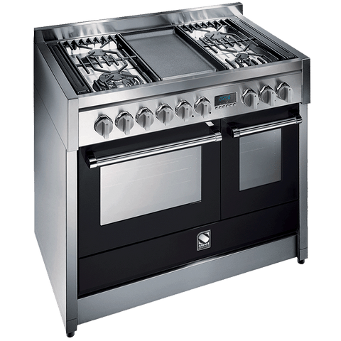 Steel Genesi G10SF-4T 100cm freestanding cooker