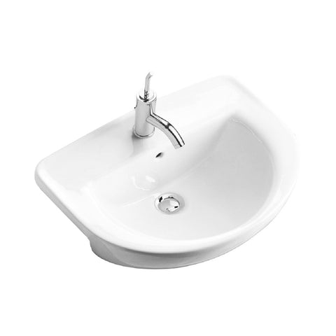 Gala 04340 Flag Semi Recessed Wash Basin