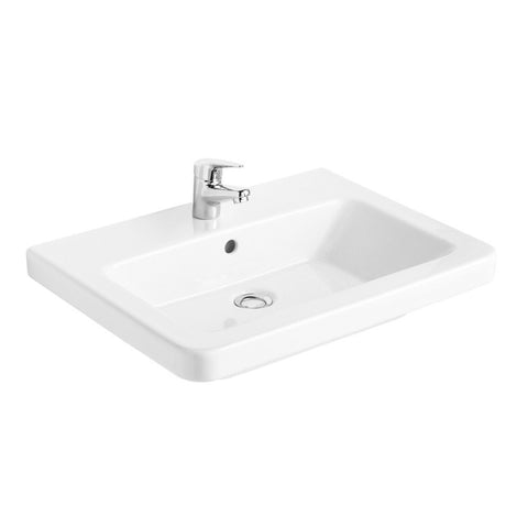 Gala 05030 Street Square 60cm Wall Basin with Waste