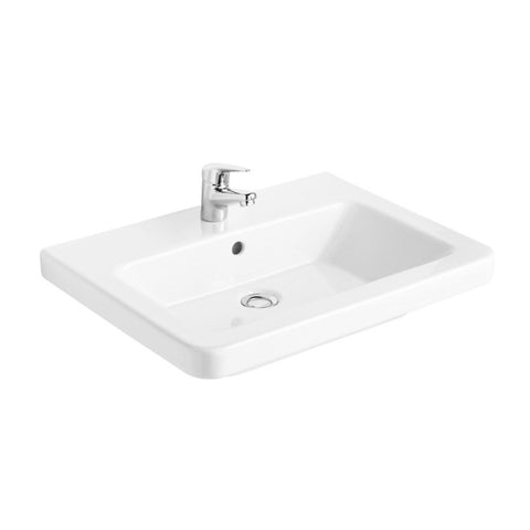 Gala 05040 Street Square 55cm Wall Basin with Waste