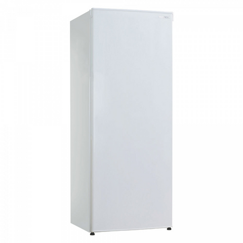 Husky HUS172VFWH White Solid Door Vertical Freezer
