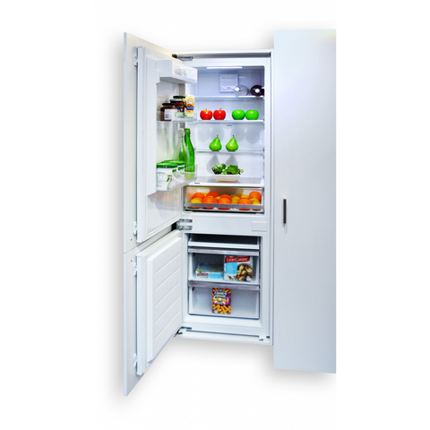Kleenmaid CRZ25511 Integrated Top Mount Refrigerator with Bottom Mount Freezer