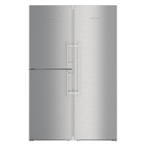 Liebherr SBSes 8474 Freestanding Side by Side Premium BioFresh, NoFrost Fridge