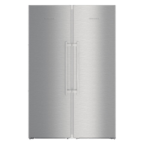 Liebherr SBSes 8673 Freestanding Side by Side Premium BioFresh, NoFrost Fridge