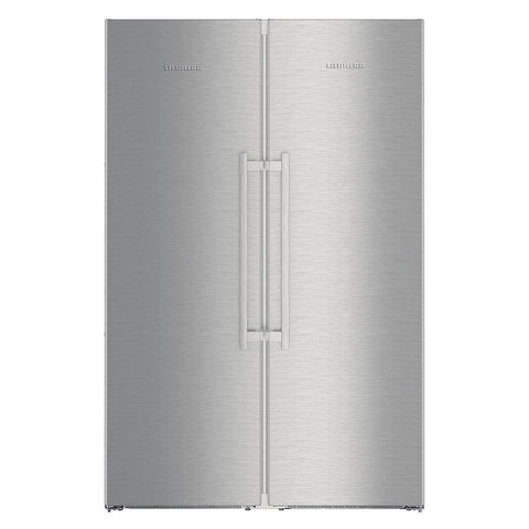 Liebherr SBSes 8683 Freestanding Side by Side Combination Fridge with BioFresh and NoFrost