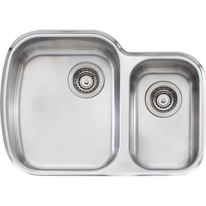 Oliveri MO71U Monet 1 & 1/2 Bowl Undermount Sink