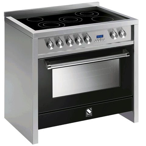 Steel P9F-6I Primo 90cm Multi Function Induction Upright Cooker