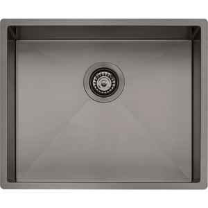 Oliveri SB50GM Spectra Single Bowl Gunmetal Sink
