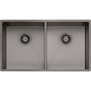 Oliveri SB63GM Spectra Double Bowl Gunmetal Sink