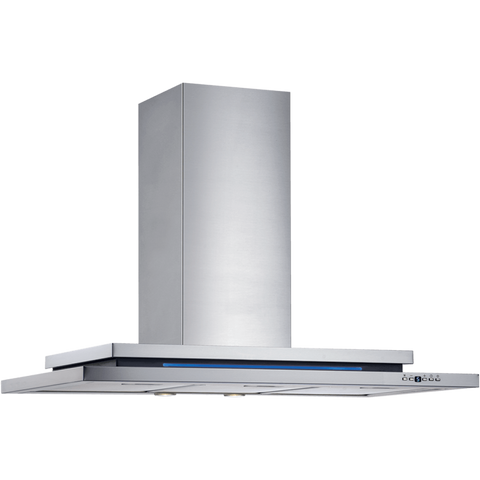 Schweigen DS3131ST 90cm Silent Blue Wallmount Rangehood (MODERATE COOKING)