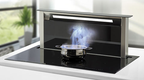 Sirius SDDH-1.1 4 Zone Induction & Downdraft Rangehood