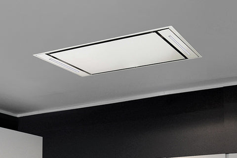 Sirius SLT958EM WH Valentina Collection 900mm White Ceiling Cassette Rangehood