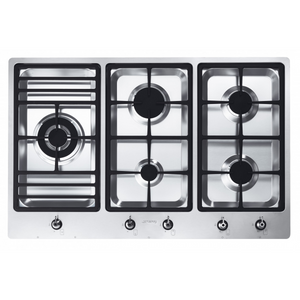 Smeg 90cm Gas Appliance Cooktop CIR900X FLOORSTOCK