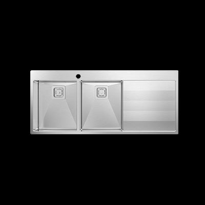 ABEY ST340DL/R LUGANO Stainless Steel Sink