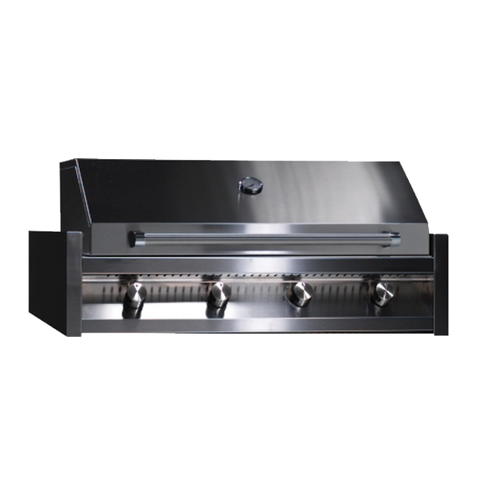 Steel AB-C4 Accessory BBQ Hood with Thermostat for Steel Built-in BBQ's