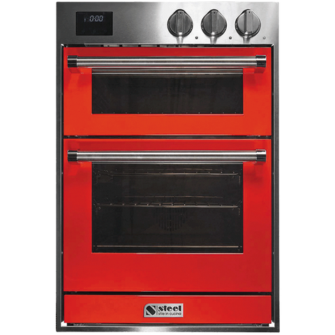 Steel GFFE6-S FLOOR STOCK Genesi Range 60cm Combi-Steam + Built-in Oven