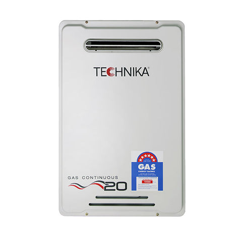 Technika THM2070NG Natural Gas 20 Litre Continuous Flow Water Heater