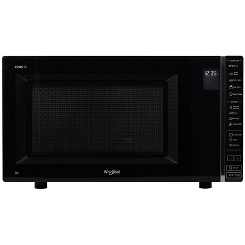 Whirlpool MWP301B 30L Black Solo Microwave
