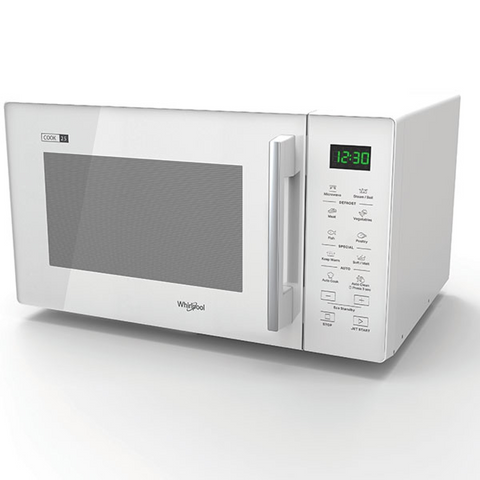 Whirlpool MWT25WH 25L White Solo Microwave