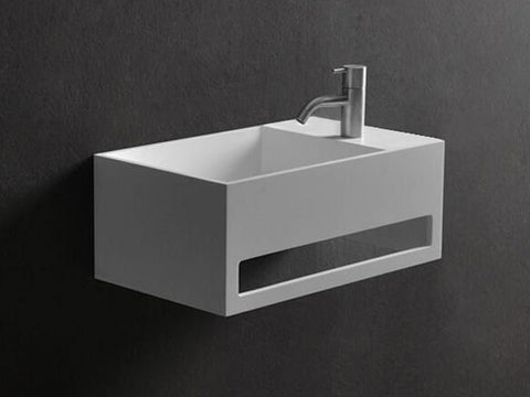 Kaskade York-200 500mm Powder Room Basin