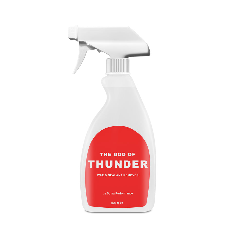 THE GOD OF THUNDER- Wax & Sealant Remover