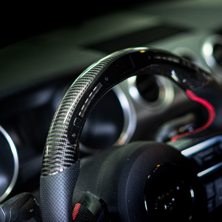 BRZ/FT86/FRS | Carbon Fiber Steering Wheel