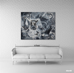 Push - Canvas Print