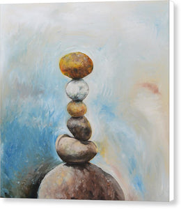 Balanced Path - Canvas Print