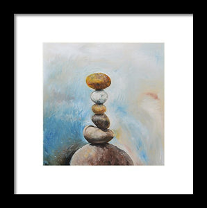 Balanced Path - Framed Print