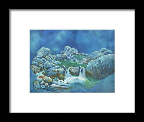 Korean Waters - Framed Print