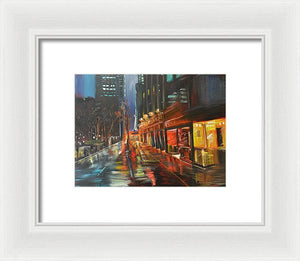 Lonesome Reflection - Framed Print