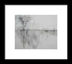 Mirage On The Horizon - Framed Print
