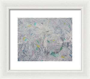 Momentum In Air - Framed Print